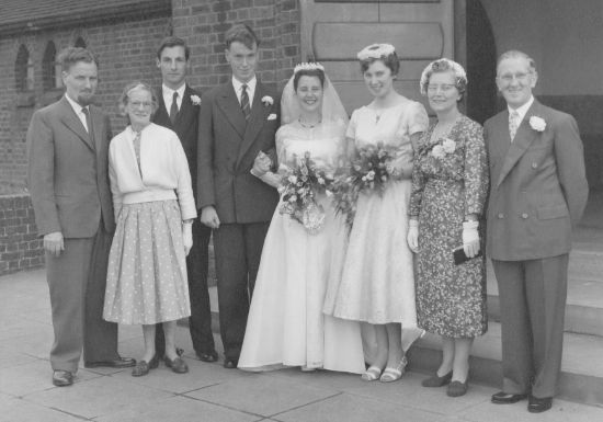 Borrell, Wedding, 1958